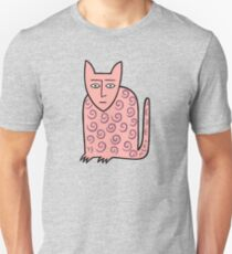 Alan the happy cat Slim Fit T-Shirt