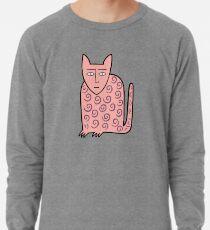 Alan the happy cat Lightweight Sweatshirt