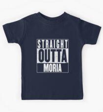 STRAIGHT OUTTA MORIA Kids Tee