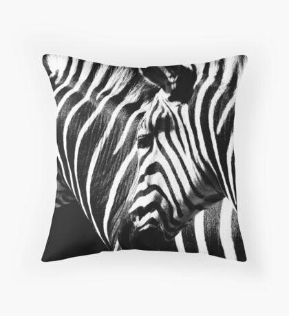 African Chess Throw Pillow