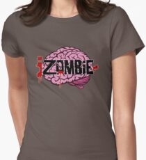 iZombie Brains Womens Fitted T-Shirt