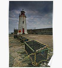 Lybster, Caithness, Scotland Poster