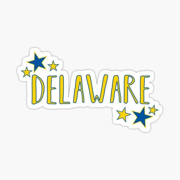 Delaware Stars Sticker