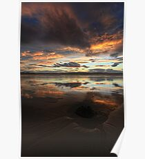 Dunnet Beach, Caithness, Scotland Poster