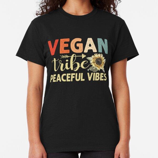 KIDS BOYS GIRLS Ferocious Vegan Vegetarian Animal T-Shirt