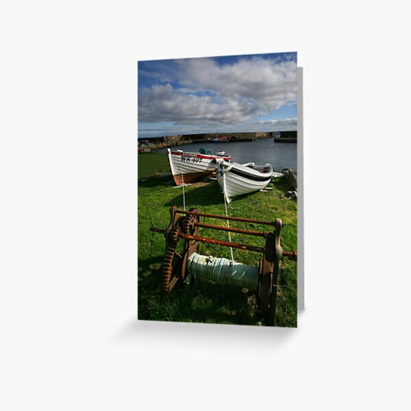 Reay, Caithness, Scotland Greeting Card