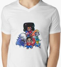 We....are the crystal gems! V-Neck T-Shirt