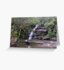 Sombersby Falls - NSW Australia Greeting Card