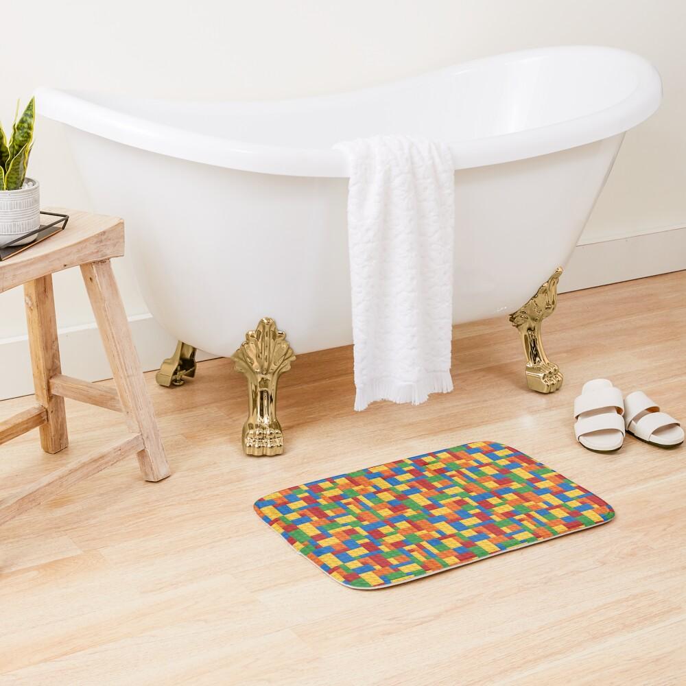 LegoLove Bath Mat