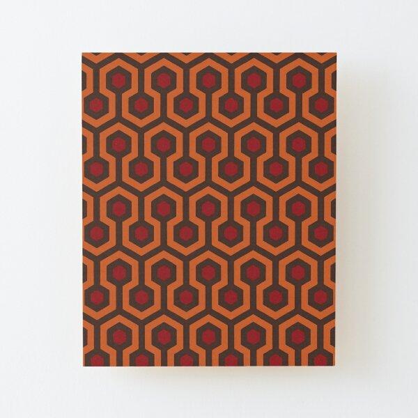 REDRUM Overlook Hotel Carpet Stephen King's The Shining Wood Mounted Print