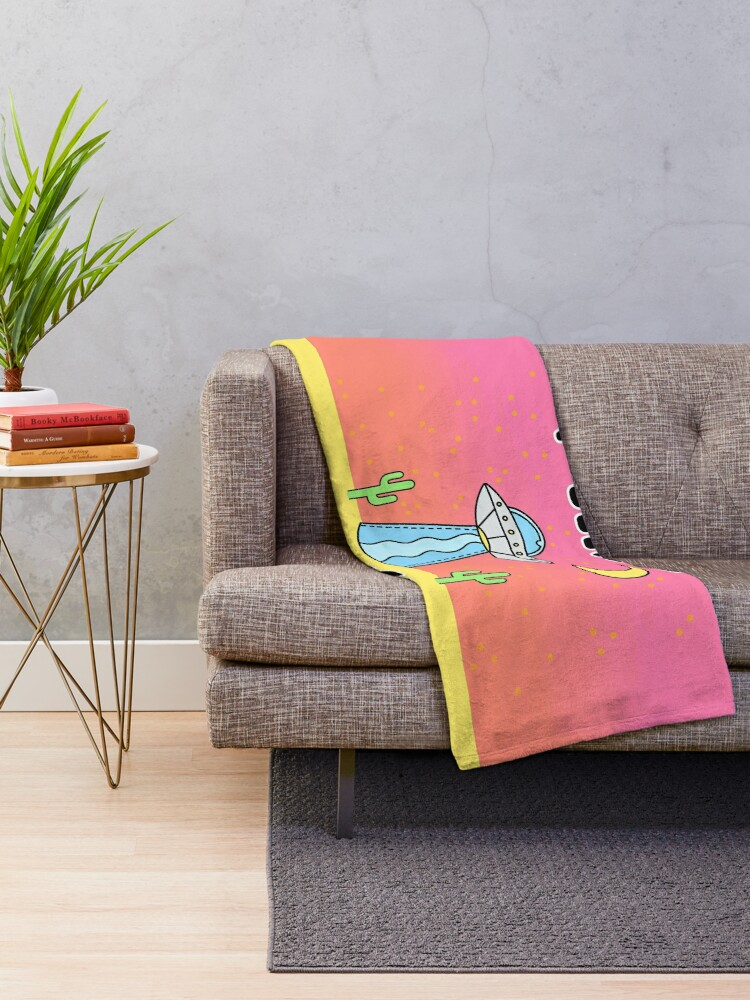 Alternate view of I Believe In Myself - The Peach Fuzz Throw Blanket