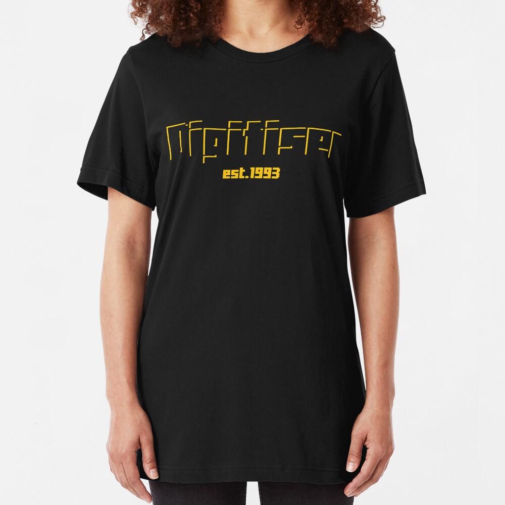 Digitiser Yellow Shadow Slim Fit T-Shirt