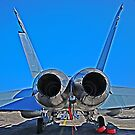 Super Hornet, tail end by bazcelt
