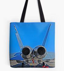 Super Hornet, tail end Tote Bag
