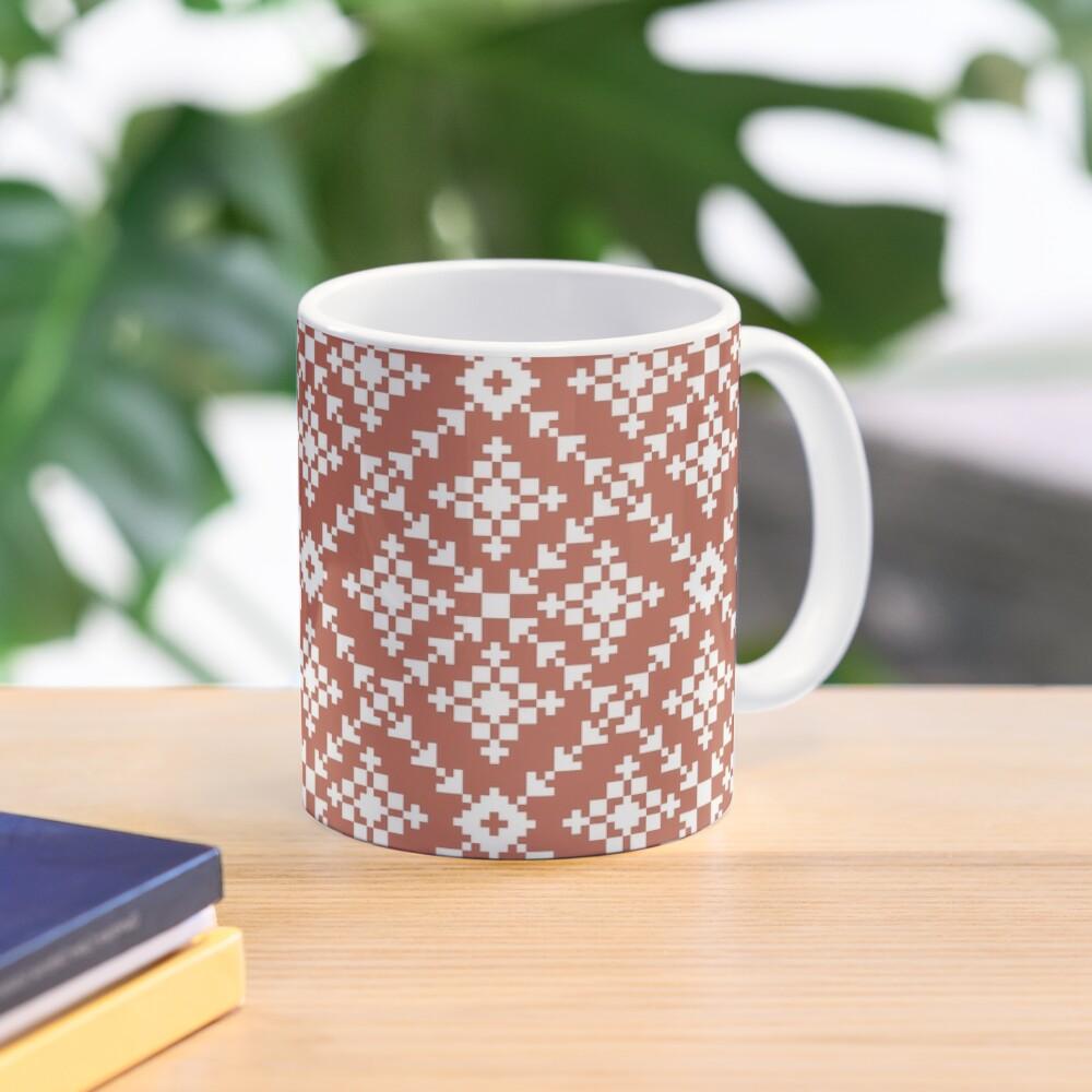 Rusted Folk Mug