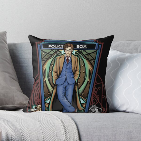The 10th - Pillow and Tote Throw Pillow