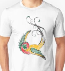 Scribbly Swallow Unisex T-Shirt
