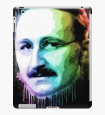 Friedrich August Von Hayek Urban Grunge Painting Rainbow Spectrum iPad Case/Skin