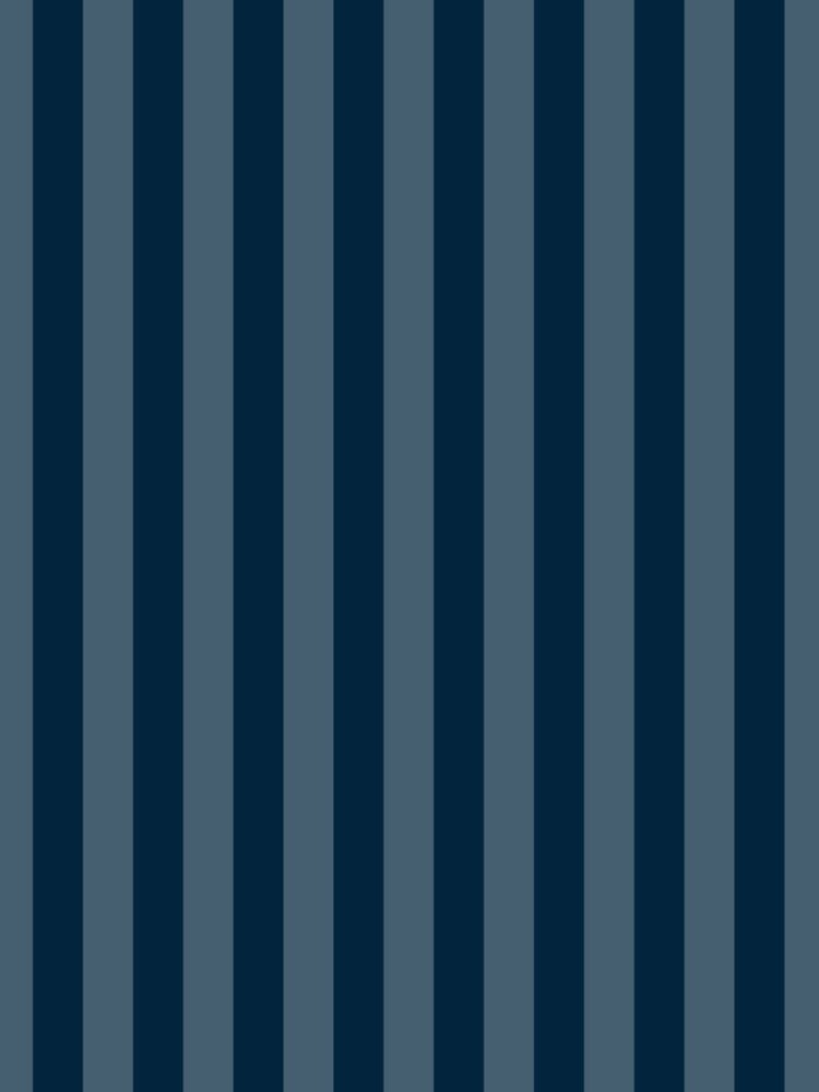 Large Faded Two Tone Christmas Blue Cabana Tent Stripe by podartist