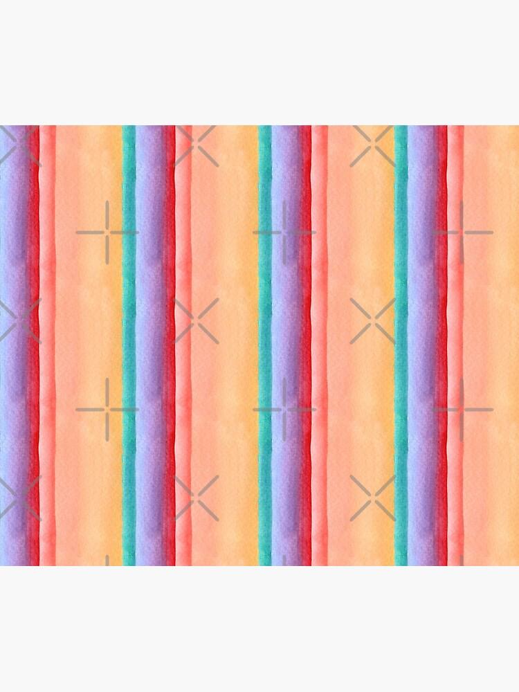 Rainbow stripe design by nobelbunt