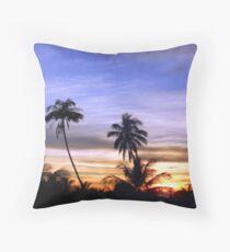 Boracay Skyline Throw Pillow