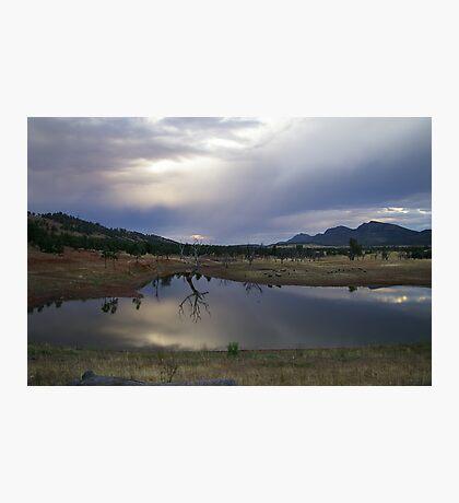 Dam in the Flinders Photographic Print