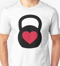 Liebe Wasserkocher Glocke Slim Fit T-Shirt