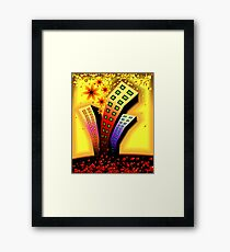 Multi-storeyed  building in an amusing environment	 Framed Print