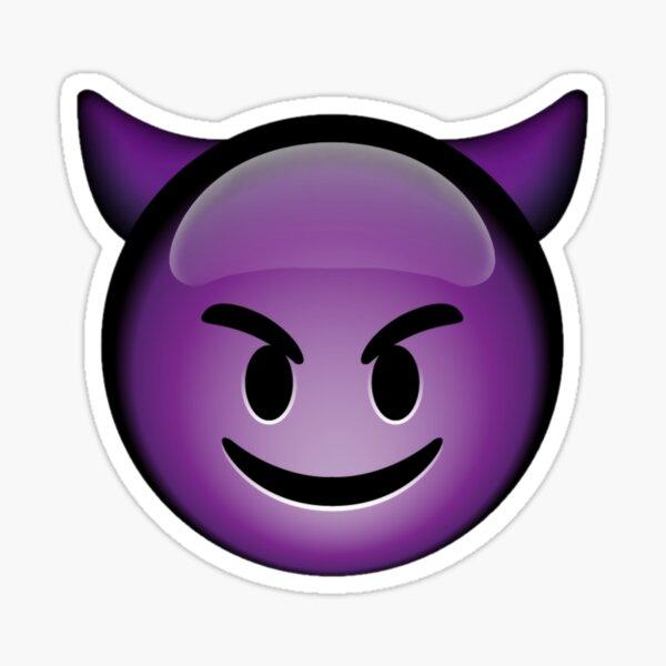 Devil Emoji Pegatina