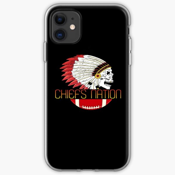 Arrowhead Pride Chiefs Nation Design iPhone Soft Case