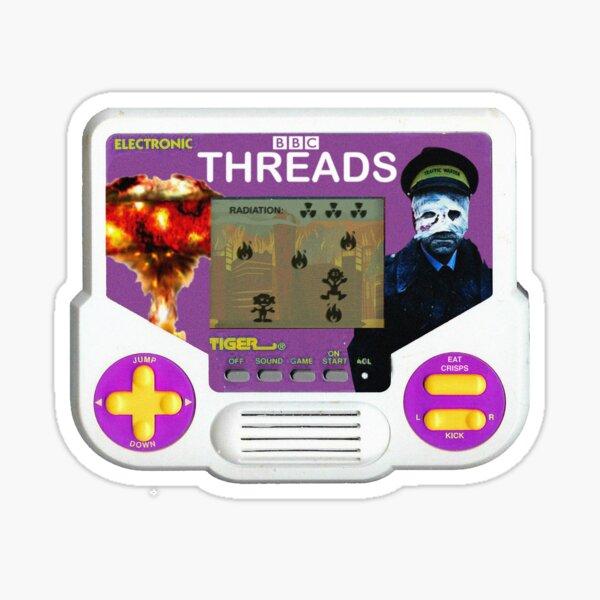 Tiger Threads Sticker