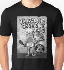 Vandalism Begins at Home Issue 10 Slim Fit T-Shirt