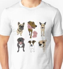 Cute Dogs Unisex T-Shirt