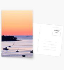 Pale Pink Maine Sunrise  Postcards