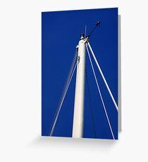 Sailboat Mast Greeting Card