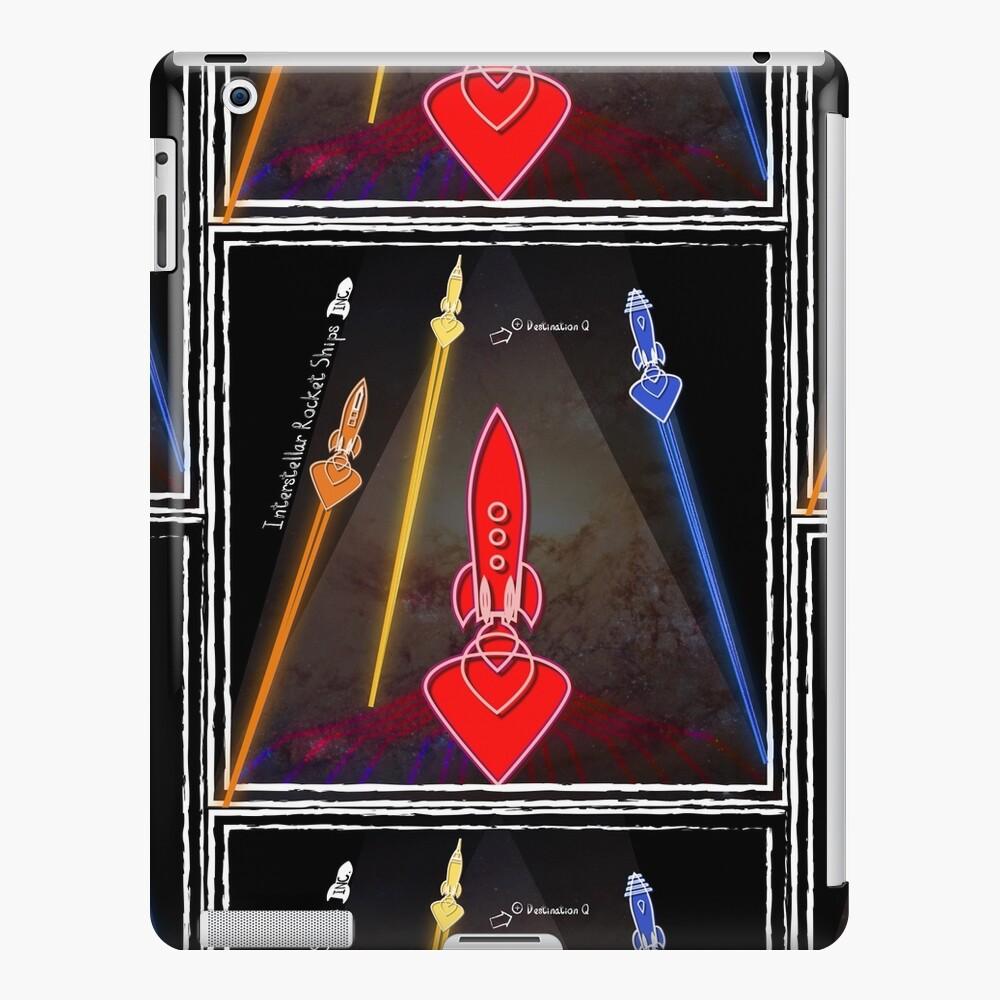 Interstellar Rocket Ships inc. Badge - Blast-off iPad Case & Skin