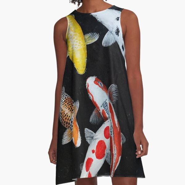 Koi Lucky Mix A-Linien Kleid