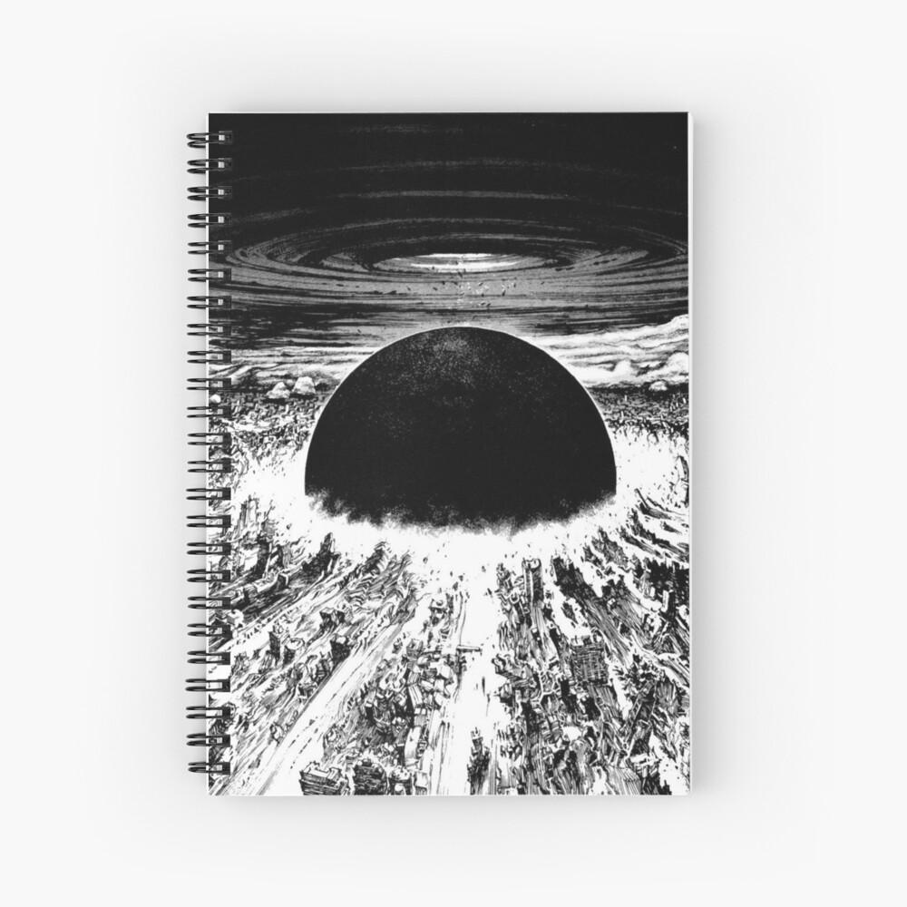 Akira Neo Tokyo Explosion Spiral Notebook By Mooimafish3 Redbubble
