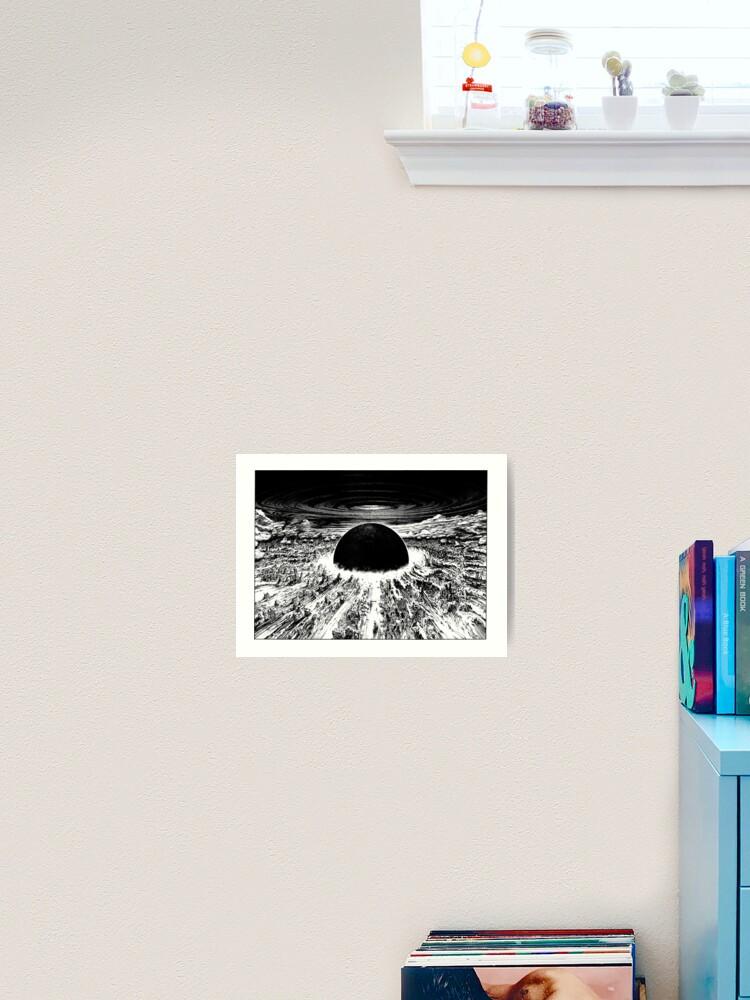 Akira Neo Tokyo Explosion Art Print By Mooimafish3 Redbubble