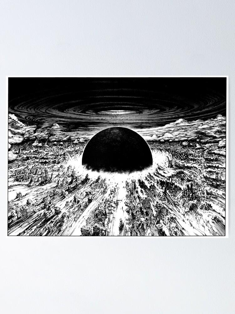 Akira Neo Tokyo Explosion Poster By Mooimafish3 Redbubble