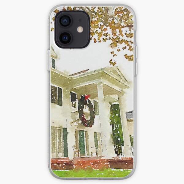 California Christmas iPhone Soft Case