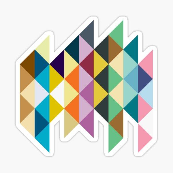 Eeveelution Triangles Sticker