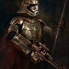 «La mujer de la armadura» de Joe Roberts