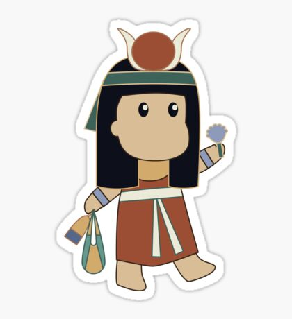 Tiny Hathor Sticker