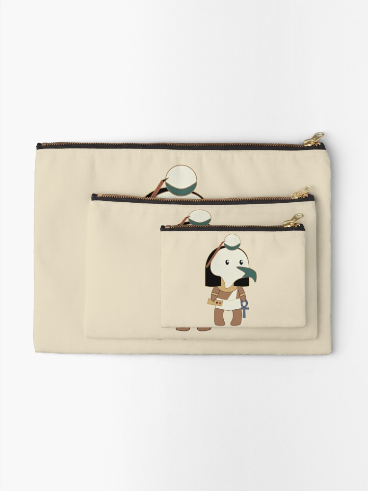 Alternate view of Tiny Thoth Zipper Pouch