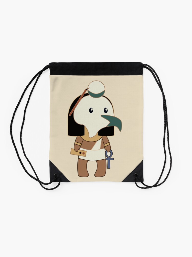 Alternate view of Tiny Thoth Drawstring Bag