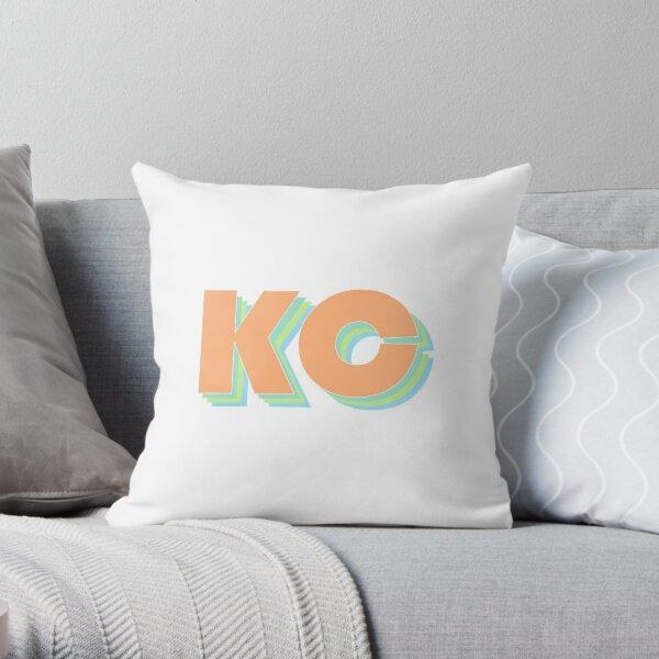 Retro Kansas City Throw Pillow