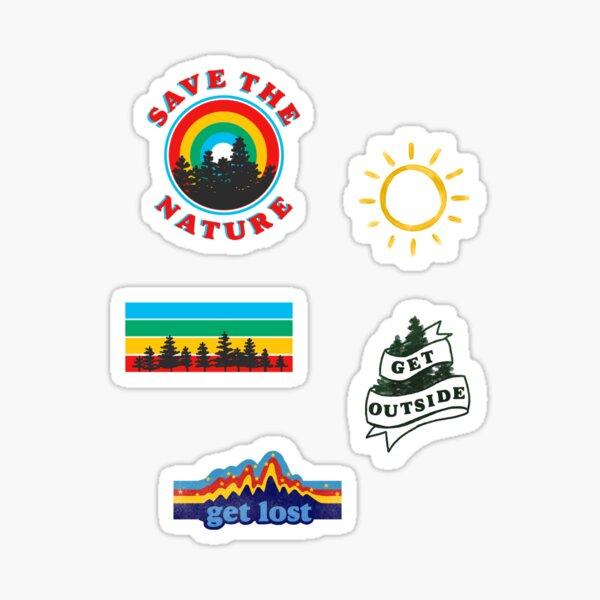 nature aesthetic mini sticker pack Sticker