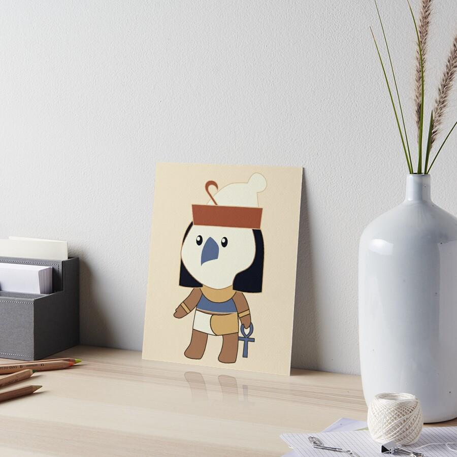 Tiny Horus Art Board Print