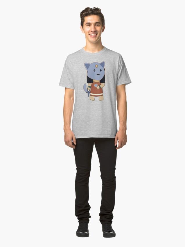 Alternate view of Tiny Bastet Classic T-Shirt